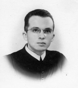 Stanley Jaki as a seminarian – Early Forties