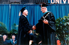 1989 – Milwaukee, WI – Laurea honoris causa from the Marquette University