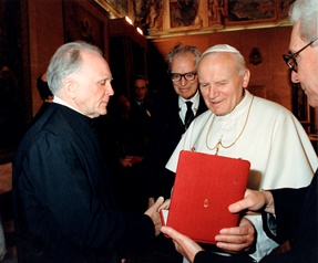 1990 – Rome – Italy – Admission to the Pontifical Academy of Sciences