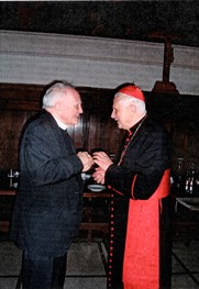 Nineties – Rome – Father Jaki and Cardinal Ratzinger