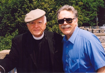 Peter Floriani with Stanley Jaki - Reading, PA - 2004