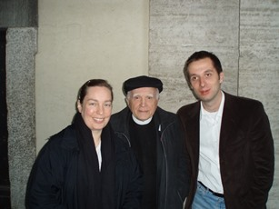 2006 – Rome – With Magdalen Ross and Beniamino Danese