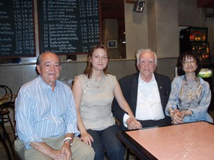 2007 – Madrid with the Guerra Menéndez family