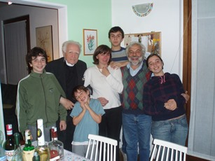 2008 – Varese, Italy – With the Megna family