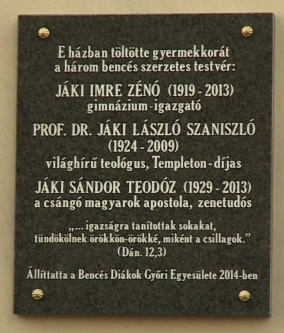 A picture of the contents of the plaque