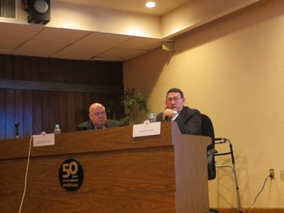 Adolfo Orozco Torres (Chairman of the Conference) and Antonio Colombo