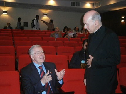 Rafael Vicuña and Father Rafael Pascual
