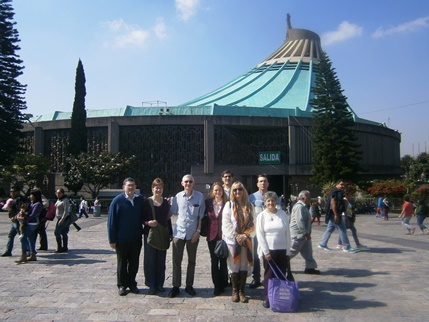 Visit to the Shrine of Our Lady of Guadalupe