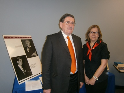 Antonio Colombo and Gloria Garafulich-Grabois, of the G.K. Chesterton Institute for Faith & Culture