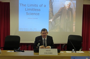 Antonio Colombo's speech about The Limits of a Limitless Science.