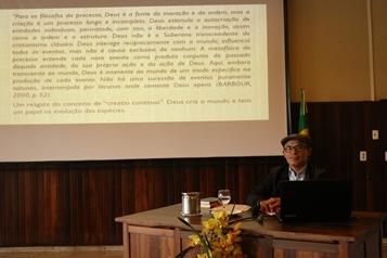 Carlos Alberto A. de Souza, during his talk